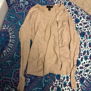 J crew oatmeal cardigan XXS like new